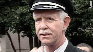 "Captain Chesley ""Sully"" Sullenberger piloted his last flight for US Airways on Wednesday."
