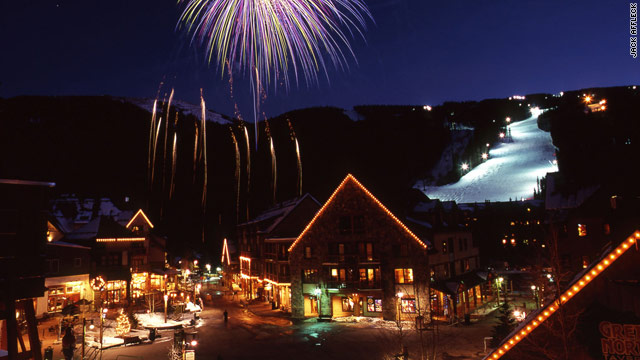 Keystone Resort offers night skiing and special kid's events.