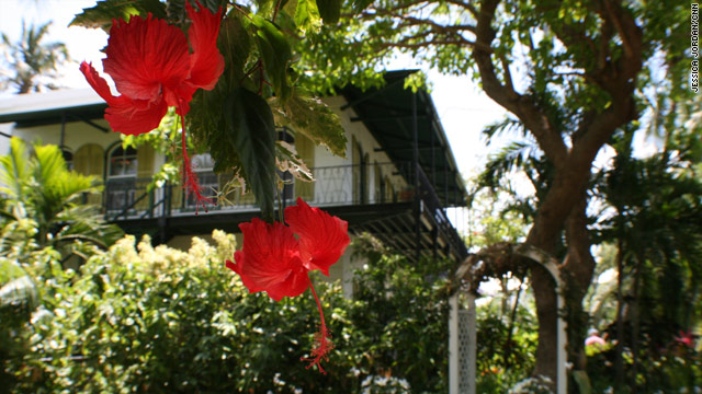 The house at 907 Whitehead Street in Key West, Florida, became Hemingway's home in 1931.