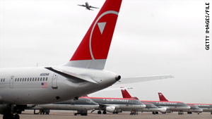 Northwest Airlines violated an airworthiness directive, the FAA said.
