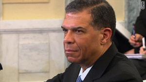 Robert Harding testified before the Senate Commerce Committee Tuesday.