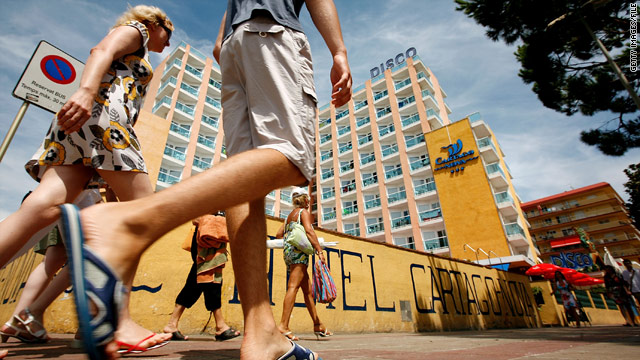 Hotels in Spain, Portugal, Italy and Greece have had rate declines.