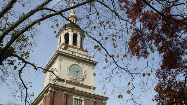 The Declaration of Independence was signed in the Pennsylvania State House, now known as Independence Hall.