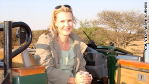 CNN's Robyn Curnow goes to the South African bush to relax.