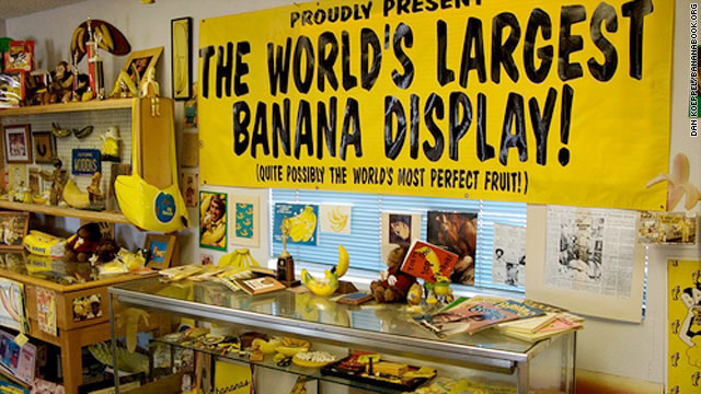 If you're bananas about bananas, this is the place for you.