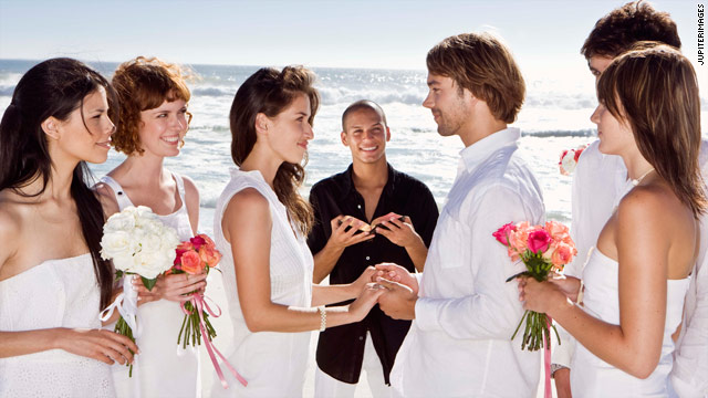 A wedding in a beautiful faraway locale can delight the couple but put extra financial stress on guests.