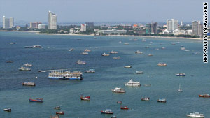 The seaside resort town of Pattaya has seen a significant dip in tourism.