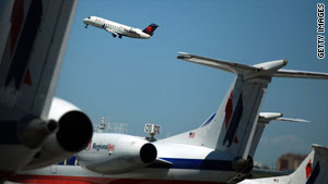 A drop in airline capacity caused by the recession is the main factor in the dip in delays, a GAO study says.