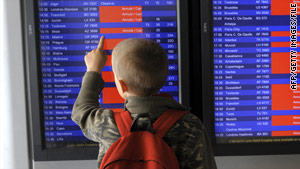 The behavior of parents of young travelers often angers other passengers.