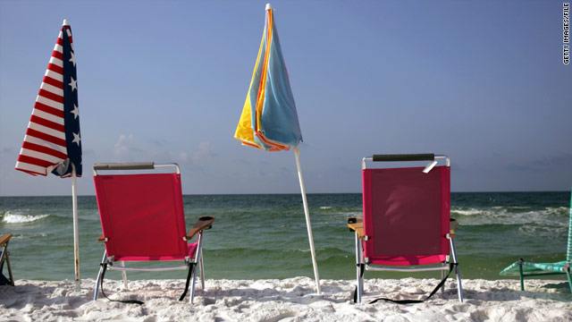 Tourism is a critical part of the economy in Destin, Florida, known for its clear, blue-green waters and sugary-white beaches.