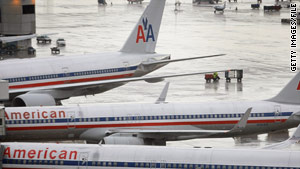 American Airlines flight 1612 was headed to Chicago from San Francisco when the first officer became ill.
