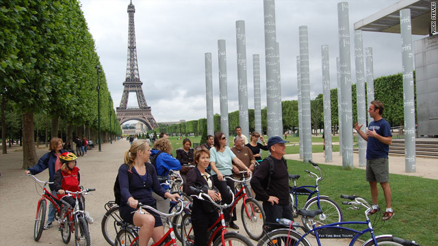 Bike tours are a fun, informative and healthy way to see Paris with an entertaining local guide.