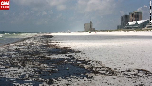 More than nine miles of white shoreline and beaches are soaked