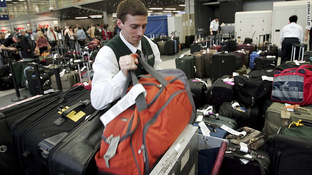 Airlines pulled in $769 million in baggage fees from January to March, according to the Bureau of Transportation Statistics.