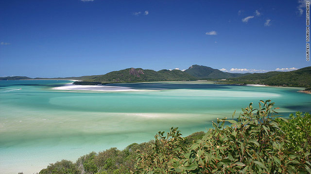 Australia's Whitsunday Island is home to pristine Whitehaven Beach.