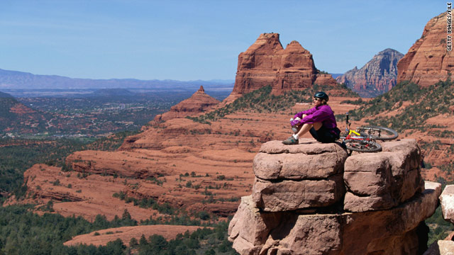 Arizona offers visitors memorable sights such as Sedona. About 35 million travelers visited the state last year.