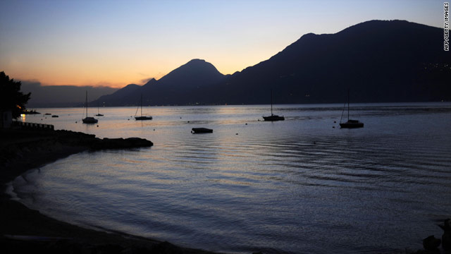 Garda is the Italy's largest lake and one of the most popular vacation spots among Italians
