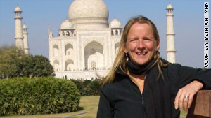 Beth Whitman travels at least once a year internationally on her own. She loves visiting India.