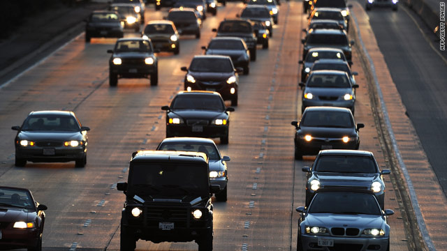Some 34.4 million Americans will travel at least 50 miles from home during the five-day holiday period, AAA says.