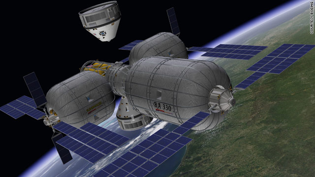By 2015, Boeing expects its CST-100 capsule to be able to carry passengers to orbiting space stations.