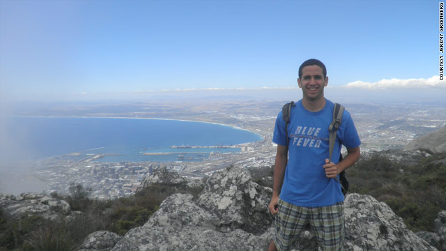 Jeremy Greenberg spent spring semester 2010 in Cape Town, South Africa.