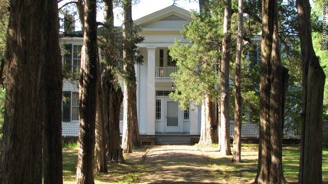 Rowan Oak is the stately home in Oxford, Mississippi, where William Faulkner lived with his wife and daughter.