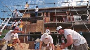 Habitat for Humanity International builds homes around the world.