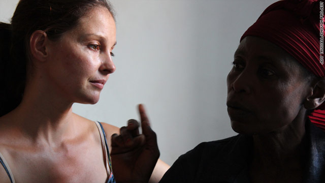 Ashley Judd says the rape of Kika, right, is directly linked to minerals used to make electronics.