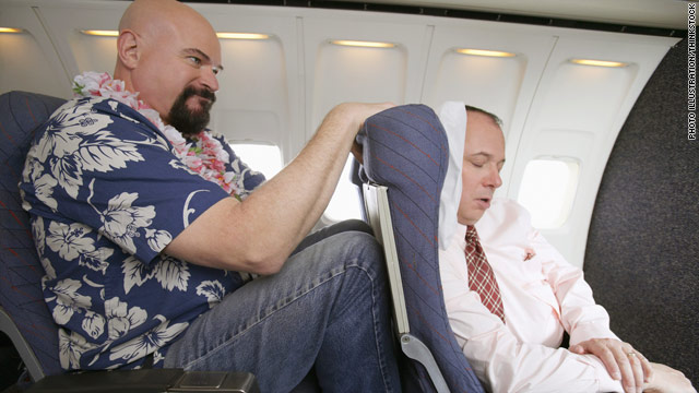 Legroom is usually the biggest issue for tall travelers. Some push back when someone in front tries to recline.