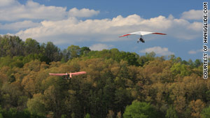 Try hang gliding for a vast overview.