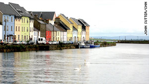 Galway, in the west, is known for its Irish music and culture.
