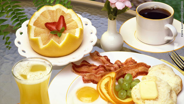 The free hotel breakfast has become more sophisticated, with many properties offering lots of food choices to lure travelers.
