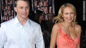Traveling couple: Rodeo star Ty Murray and singer Jewel find serenity while riding their motorcycles.