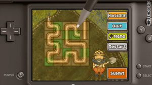 "In ""Professor Layton and the Unwound Future"" players have access to new logic, math and spatial brainteasers."