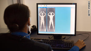 More than 60 airports are using body-scanning machines  to screen passengers.
