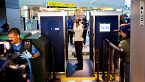 Full-body scanners at airports are drawing increasing numbers of protests.
