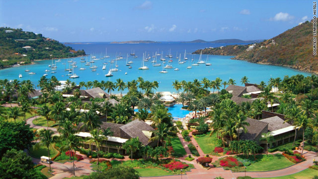 The Westin St. John Resort & Villas on the U.S. Virgin Islands is among hotels taking part in post-Thanksgiving travel deals.