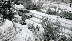 Know what kind of weather you'll encounter and how to drive in it, AAA warns travelers.
