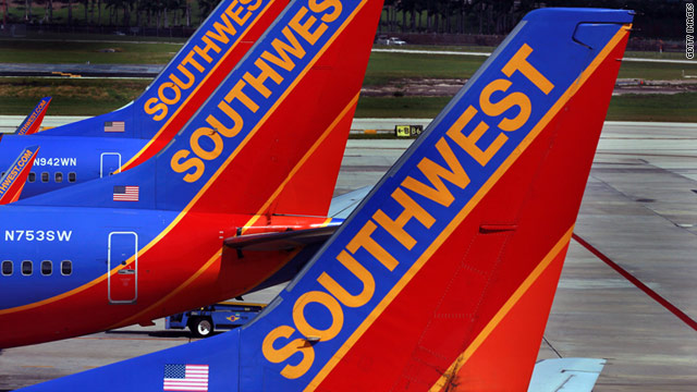 Southwest Airlines received top marks in five Zagat survey categories, including best value among domestic airlines.