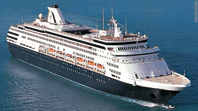 Holland America's MS Ryndam remained unharmed after an intoxicated passenger realeased the ship's anchor.