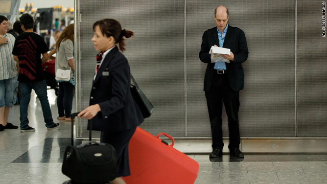 Alain de Botton jots down some observations during his week-long stint as Heathrow Airport's writer-in-residence.