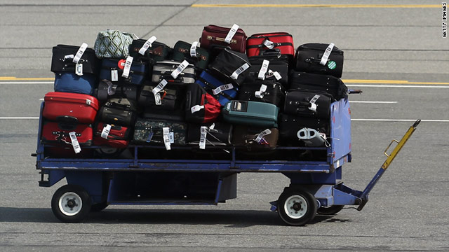 Revenue from baggage fees in three quarters of 2010 is five times what it was in all of 2007.