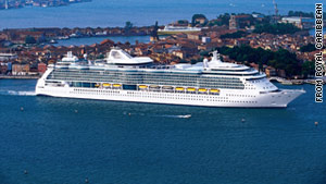 The ship, Brilliance of the Seas, is carrying more than 2,000 passengers.