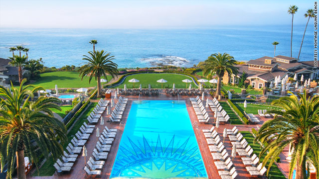 Montage sits on a coastal bluff above the Pacific in Laguna Beach, California.