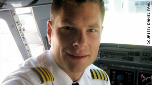 Captain Daniel Fahl has been a pilot for 10 years.