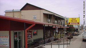 The Billy the Kid Museum in Fort Sumner, New Mexico, welcomes about 20,000 visitors each year.