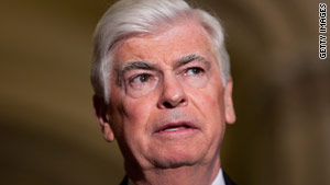 Democratic Sen. Chris Dodd has represented Connecticut on Capitol Hill since 1974.