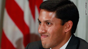 USAID administrator Dr. Rajiv Shah will take charge of U.S. relief efforts in Haiti.
