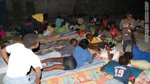 The Maison De Lumiere Orphanage was serving as a makeshift triage center.