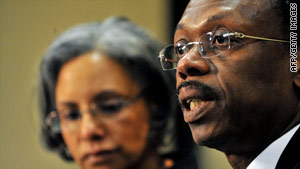 Jean-Bertrande Aristide, the former president of Haiti, says he is ready to return to his native country.